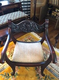 Victorian North Wind chair
