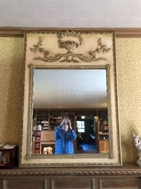 Very large fine mirror