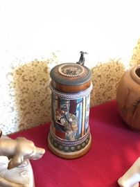Antique German stein