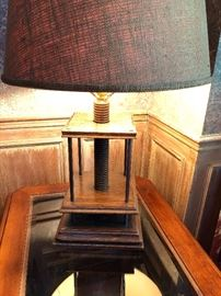 Book press lamp