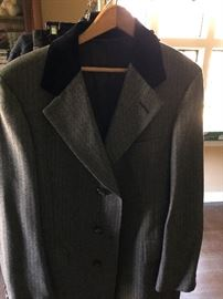 Fine mans wool coat