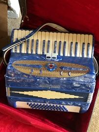 Vintage George Riddle Italian accordion