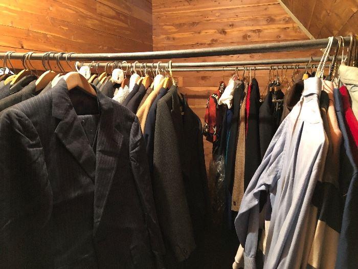 Huge cedar closet