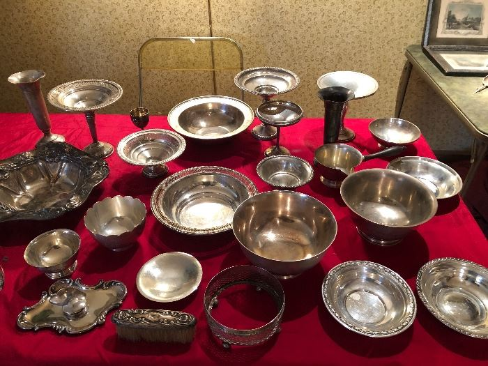 So many sterling silver bowls!