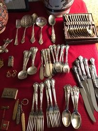 Gorham Chantilly sterling silver flatware