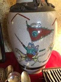 large Chinese ceramic vase
