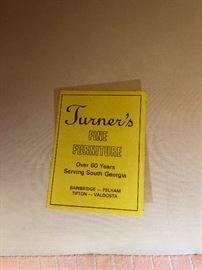 Turner's Fine Furniture