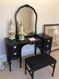 This antique vanity is the BOMB!
