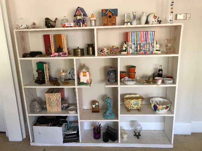 Shelves of pretty things!
