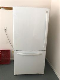 Refrigerator Freezer! You need this. IT's the up/down kind, not side by side. More room!