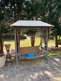 patio furniture swing