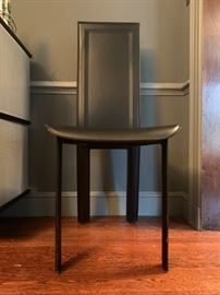 Italian Leather Dining Chairs- Set of 8