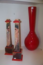 Barbara Gallagher candlesticks