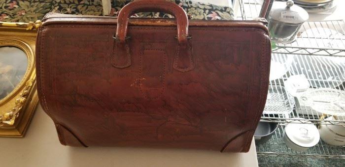 Doctor's vintage medical bag