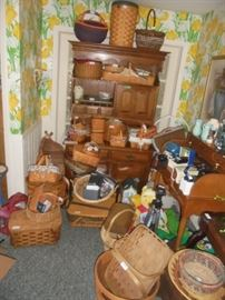 Some of the Longaberger Basket Collection
