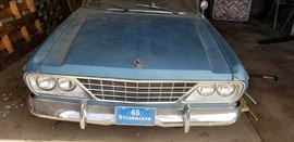 Very restorable 1965 Studebaker with less than 33000 miles. 283 engine. (See note in details) Asking price will be $4000.