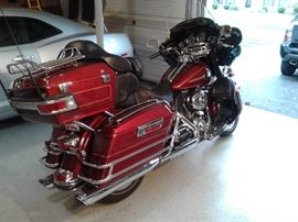 She is a 2009 Harley Davidson Electra Glide Ultra Classic.  It only has 23,109 Miles and is in excellent condition!...