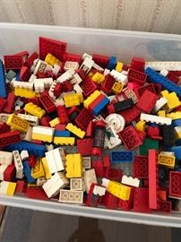 Legos out the wazoo!
