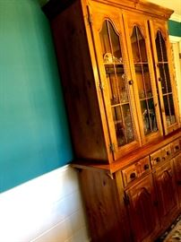 AND...A Matching Lighted China Hutch!...
