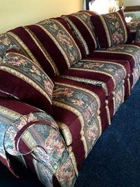 Also A Quality Timeless 3 Cushion Sofa...