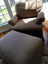 Oh SO COMFY Reading Chair and Ottoman...