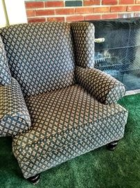 Super Cute Upholstered Wingback...
