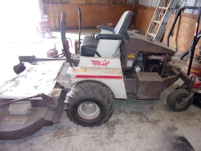 1991 Grasshopper Zero Turn Mower 60-61 inch deck 1660 hours