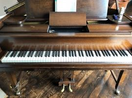 STROUD BABY GRAND PLAYER PIANO