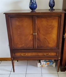 Antique TV cabinet