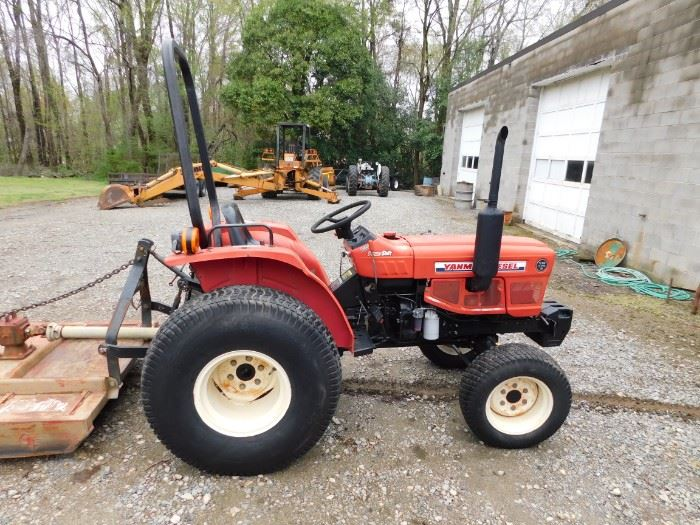 1987 Yanmar Powershift Tractor 4WD Diesel(Model 22626D/Subject to Confirmation)