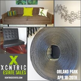 Upscale modern Orland Park estate sale!