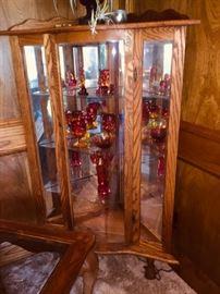Oak China Cabinet