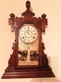 Antique Liberty wall or mantle clock