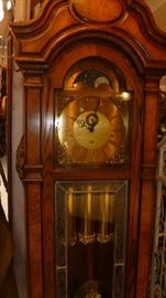 Grandfather Moon phase clock