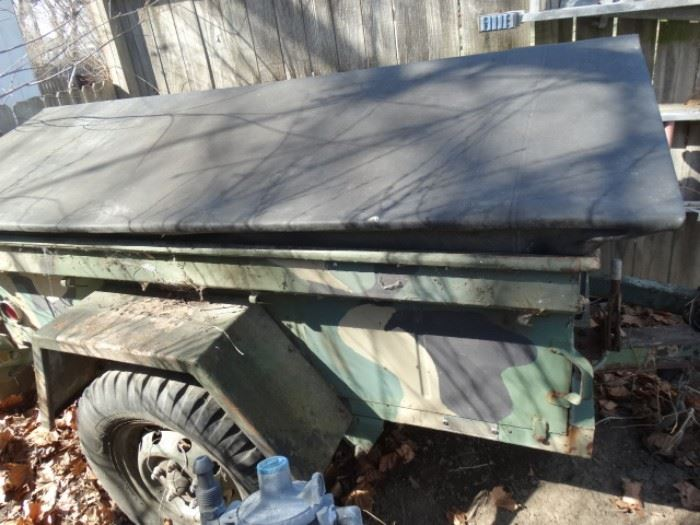 Military cargo trailer 1/4 ton