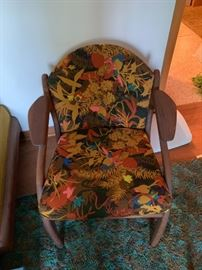 Mid century chair.  Adrian Pearsall