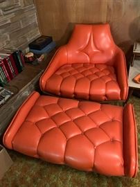 Such a great chair and ottoman.  Adrian Pearsall.