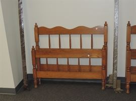 Twin Bed With Rails
