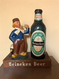 Heineken Beer Statue