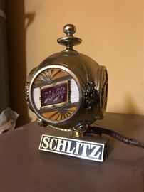 Schlitz Beer Light Sign