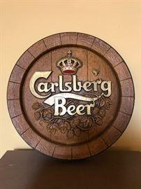 Carlsberg Beer Sign
