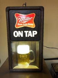 Miller Beer Light Sign