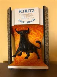 Schlitz Malt Liquor sign