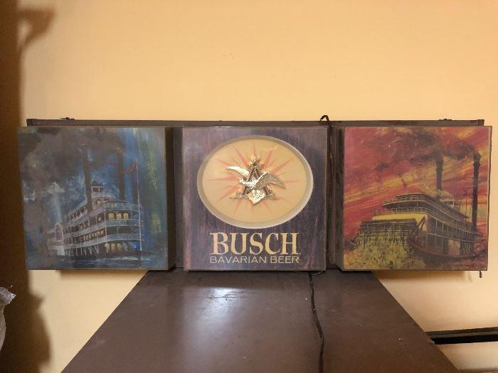 Busch Beer Sign