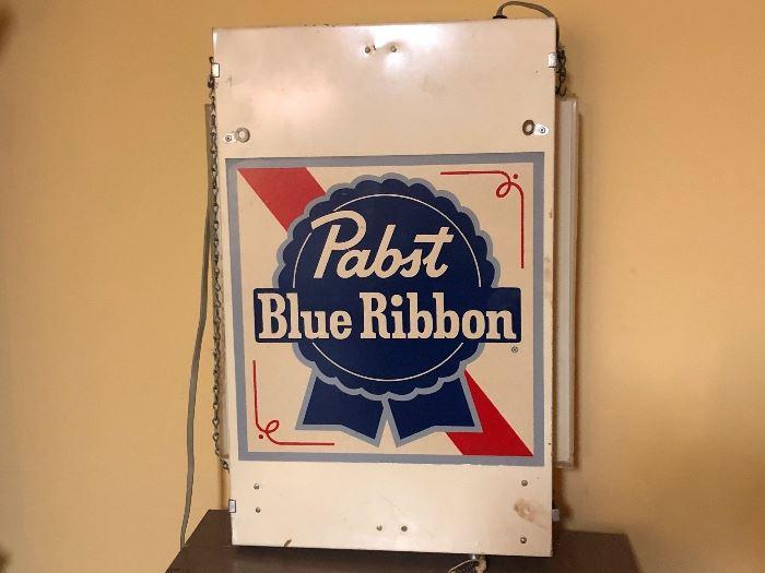 Pabst Blue Ribbon Sign