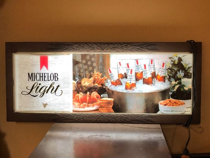Michelob Beer Sign Light
