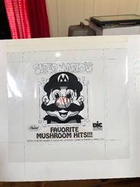 Super mario original artwork