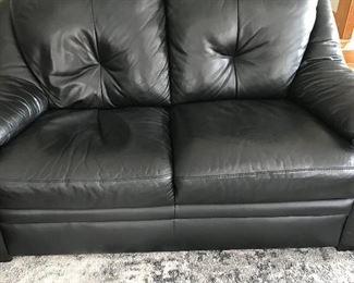 Natuzzi leather