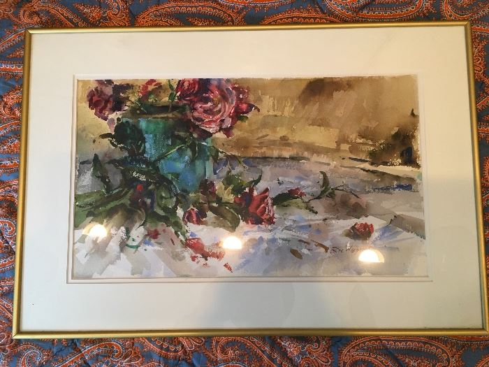 Artist: Eric Wiegardt (American) , Title: Untitled , Medium: Watercolor on Paper