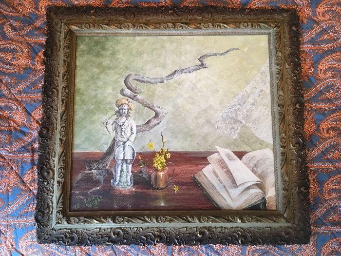 Artist: Ella Wright (American) , Title: Untitled , Medium: Oil on Canvas